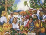 Market in Guadeloupe