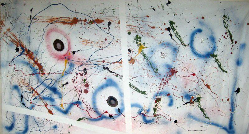 An old friend: A bit abstract, a bit expressionism, a bit ofsealife