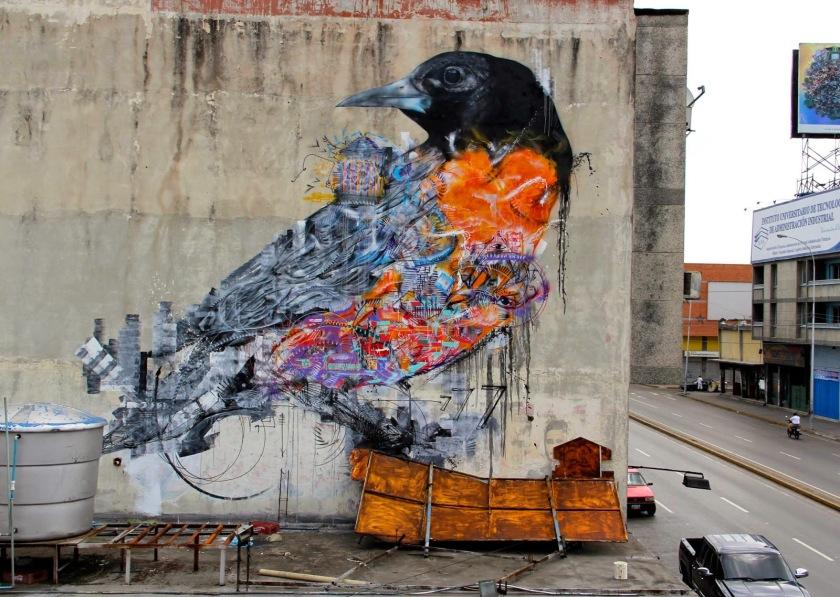 Bird Mural L7M