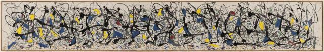 Summertime: Number 9A 1948 by Jackson Pollock 1912-1956