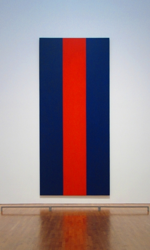Barnett Newman 1905-1970 - Voice of Fire, 1967 - Tutt'Art@