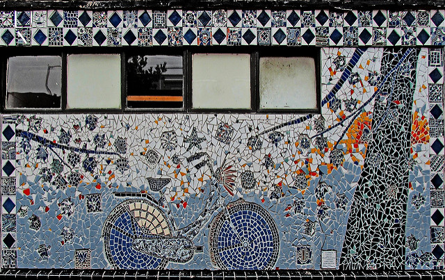 The Cemetery Caretaker Who Covered His Cottage in Mind-Bending Mosaics